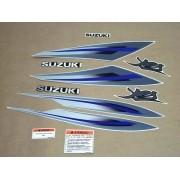 Kit Adesivos Suzuki Yes 125 2009 Prata