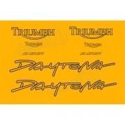 Kit Adesivos Triumph Daytona 955i Amarela D955009 Decalx