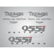 Kit Adesivos Triumph Daytona 955i Prata D955002 Decalx