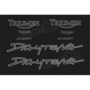 Kit Adesivos Triumph Daytona 955i Preta D955007 Decalx