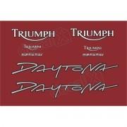 Kit Adesivos Triumph Daytona 955i Vermelha D955008 Decalx