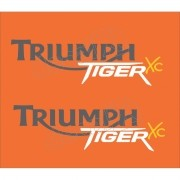 Kit Adesivos Triumph Tiger Xc Laranja Decalx