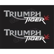 Kit Adesivos Triumph Tiger Xc Preta Decalx