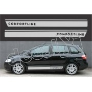 Kit Adesivos Volkswagen Spacefox Confortlie