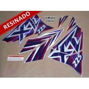 Kit Adesivos Xt225 1997 Branca Resinado