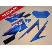 Kit Adesivos Xt225 2002 Azul Perolizado Resinado