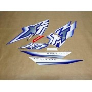 Kit Adesivos Xt600 2000 À 2002 Azul Resinado