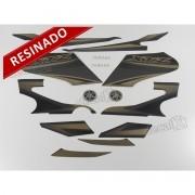 Kit Adesivos Xtz 125 2012 Preta Resinado