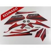 Kit Adesivos Xtz 125 2012 Vermelha Resinado