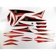 Kit Adesivos Xtz 250x 2010 Laranja Resinado