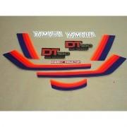 Kit Adesivos Yamaha Dt180 1983 Branca