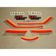 Kit Adesivos Yamaha Dt180 1983 Preta E Vermelha