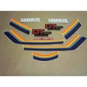 Kit Adesivos Yamaha Dt180 1983 Vermelha