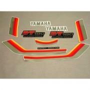 Kit Adesivos Yamaha Dt180 1984 Preta E Vermelha