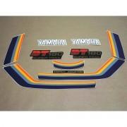 Kit Adesivos Yamaha Dt180 1984 Vermelha
