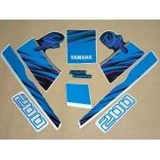 Kit Adesivos Yamaha Dt200 1992 A 1993 Preta