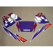 Kit Adesivos Yamaha Dt200 1997 Azul