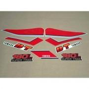 Kit Adesivos Yamaha Dt 180l 1985 Branca