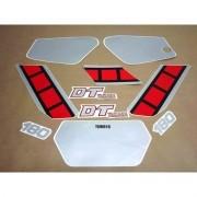 Kit Adesivos Yamaha Dtn180 1986 Preta