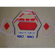 Kit Adesivos Yamaha Dtn180 1987 Branca