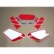 Kit Adesivos Yamaha Dtz180 1988 Branca