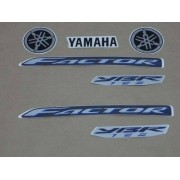 Kit Adesivos Yamaha Factor Ybr 125 2009 Azul