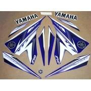 Kit Adesivos Yamaha Lander 250 2009 A 2010 Azul