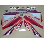 Kit Adesivos Yamaha Lander 250 2009 Vermelha