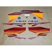 Kit Adesivos Yamaha Lander 250 2010 Vermelha