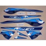 Kit Adesivos Yamaha Neo 2010 Azul