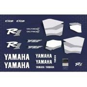 Kit Adesivos Yamaha R1 1999 Azul R199az