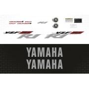 Kit Adesivos Yamaha R1 2002 Vermelha R102ve
