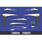 Kit Adesivos Yamaha R1 2007 Azul R107az
