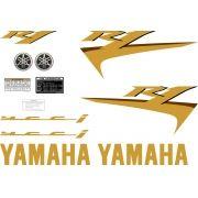 Kit Adesivos Yamaha R1 2007 Preta Americana R107pta