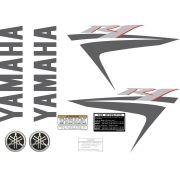 Kit Adesivos Yamaha R1 2007 Preta Europeia R107pte