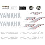 Kit Adesivos Yamaha R1 2010 Preta R110pt