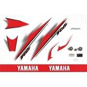 Kit Adesivos Yamaha R6 2007 Vermelha E Branca 607bv