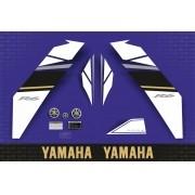Kit Adesivos Yamaha R6 2008 Azul Americana R608aza