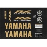 Kit Adesivos Yamaha R6 2009 Preta R609pt