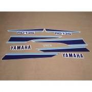 Kit Adesivos Yamaha Rd135 1987 Branca