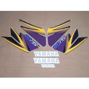 Kit Adesivos Yamaha Rd135 1995 Preta