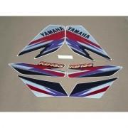 Kit Adesivos Yamaha Rd135 1996 Preta