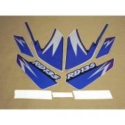 Kit Adesivos Yamaha Rd135 1997 Preta