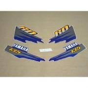 Kit Adesivos Yamaha Rd135 1998 Azul