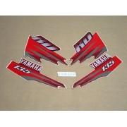 Kit Adesivos Yamaha Rd135 1998 Vermelha