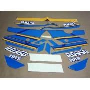 Kit Adesivos Yamaha Rd350 1990 Azul