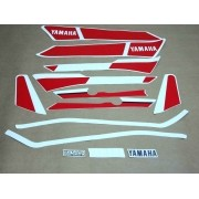 Kit Adesivos Yamaha Rdz 135 1987 Preta
