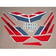 Kit Adesivos Yamaha Rdz 135 1988 Branca