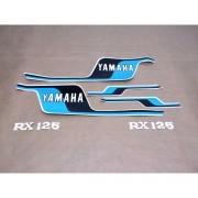 Kit Adesivos Yamaha Rx125 1979 Azul