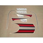 Kit Adesivos Yamaha Rx125 1982 Prata
